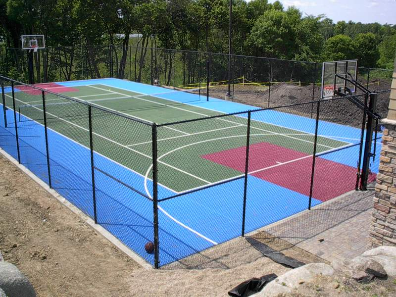 Multi sport game courts for Sport court
