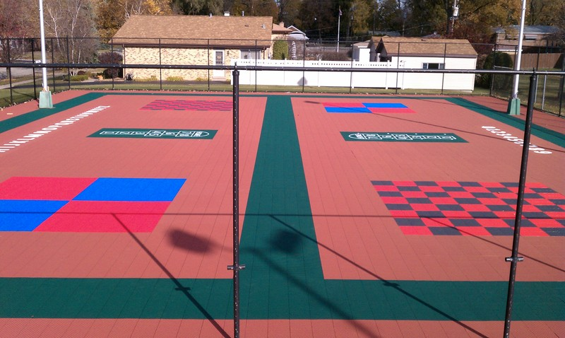 Multi Sport Game Courts