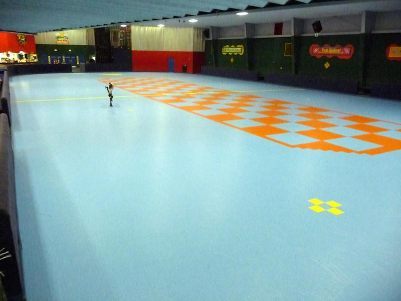 IceCourt Roller Skating Rink Floors - Skate court flooring
