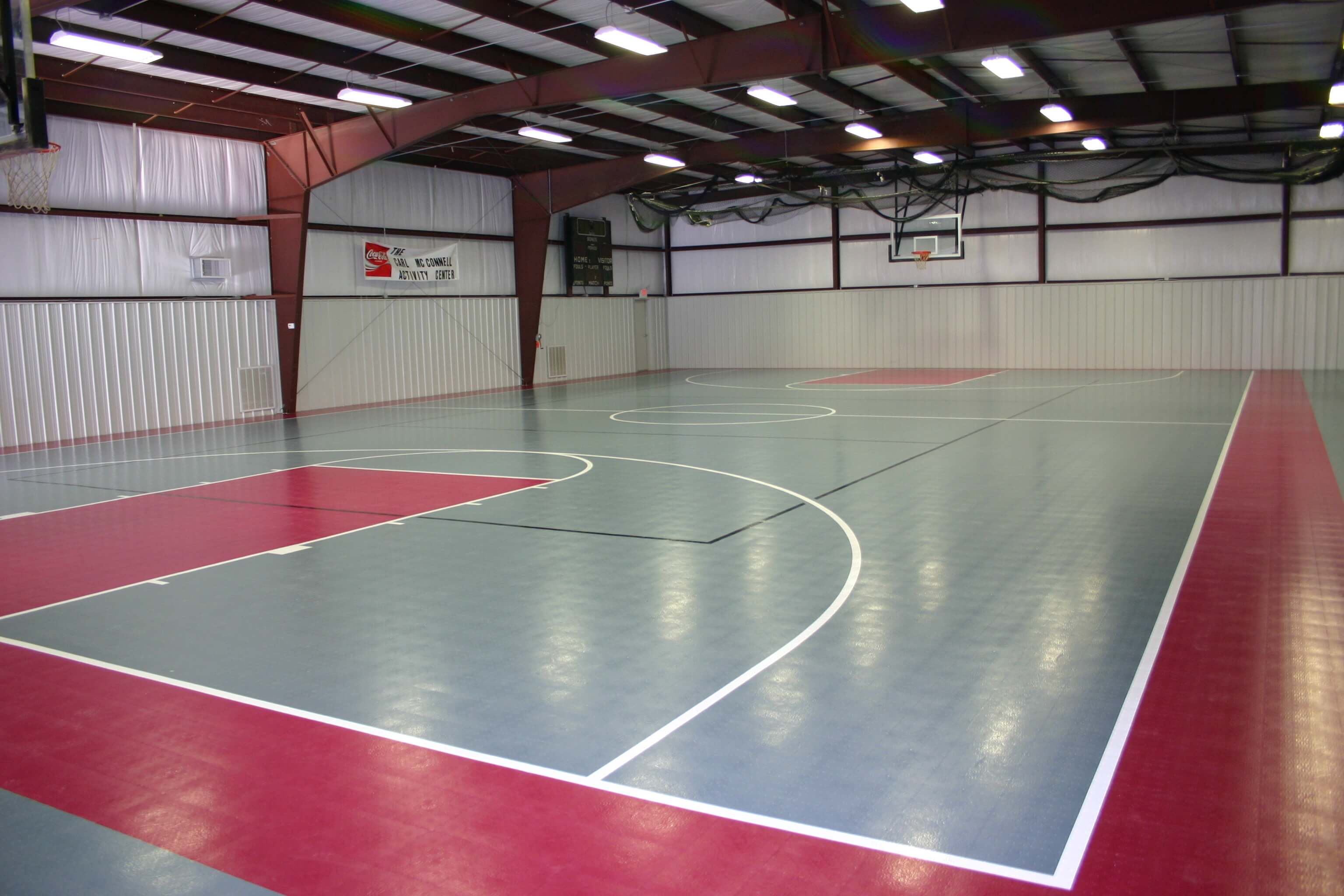 Compete for Indoor sport court