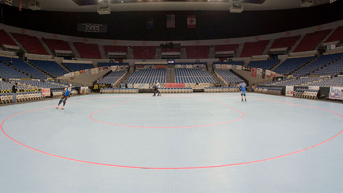 icecourt flat track roller derby floors